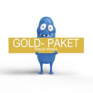 Gold -Sosyal Medya Uygulamalar Paketi