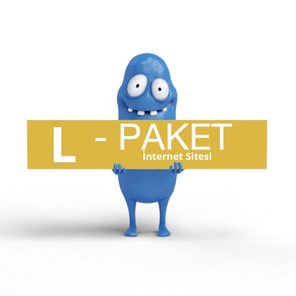 l_paket internet sitesi Web Sitesi Tasarımı